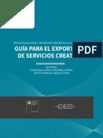 Guiia Para El Exportador de Servicios Creativos