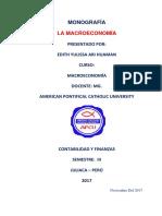 macroeconomia monografia