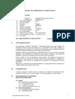 Administración-SÍLABO  DE COMPETENCIA COMUNICATIVA