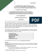 Ukff2013 Assignment 201805