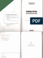 1 NETTO José Paulo & BRAZ, Marcelo. Economia política - uma introdução crítica
