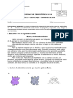 01D2018L diagnostico lenguaje 1 basico