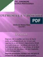 Depresia La Varstnici