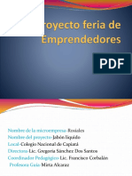 Proyecto Feria de Emprendedores