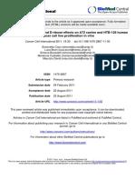Potassium Bicarbonate and Dribose Effects