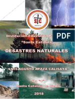 desastres naturales- primaria 6to