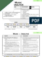 Music Analysis 2.25.18