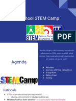 middle school stem camp