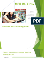 Consumer Purchase Interview