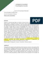 Artigo - A patologização da normalidade