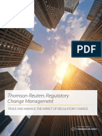 Thomson Reuters Regulatory Change Brochure