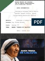 Expo Madre Teresa de Calcuta