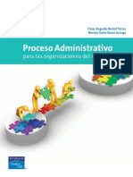 Proceso Administrativo Para Las Organizaciones