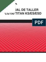 Honda CG 150 Titan KS-ES-ESD - Service Manual (Spanish).pdf