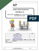 INFORME II- Estructura de Modelo de Informe