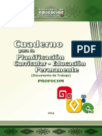 6 Cuaderno de Planificación Permanente, 2014