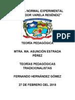 Corrientes Tradicionalistas