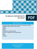 The Muslim Contribution to Sociology.pptx