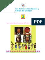 Aprendamos de las nacionalidades y pueblos del Ecuador