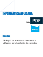 15. Estructuras Repetitivas