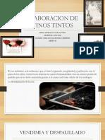 Elaboracion de Vinos Tintos