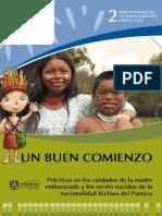 Prácticas en los cuidados de la madre embarazada y los recién nacidos de la nacionalidad kichwa del Pastaza