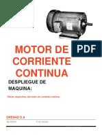 Catastro MotorCorrienteContinua