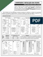 Manual Instalação Fecho Magnético Thevear