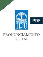 Pronunciamento Social