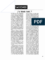Orientaciones de Pedro Barnola. Sobre La Balandra Isabel