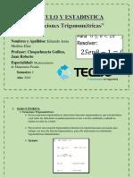 Cálculo y Estadistica Taller Semana 12docx