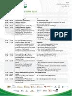 Green Youth Indaba 2018 - Draft Programme