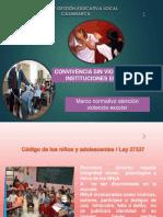 2014 - Convivencia Escolar