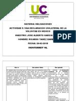 Declaración Unilateral de la Voluntad en Mexico