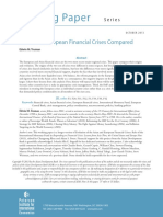Truman, Edwin M. (2013) Asian and European Financial Crises Compared Peterson Institute for International Economics Working, Paper 13-9, October