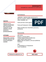 Curriculum Lidia
