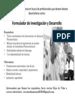 339 Formulador de Investigacion y Desarrollo I
