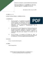 Normas Técnicas Sanitarias Para La Autorización y Control de Establecimientos Alimentarios