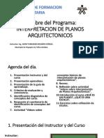 INTERPRETACION DE PLANOS ARQUITECTONICOS CLASE 1.pptx