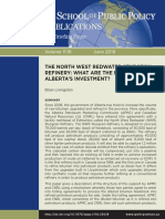University of Calgary report on the economic viability of Alberta's North West Redwater Sturgeon Refinery