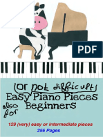 - 129 Easy & Intermediate Pieces for Piano Solo