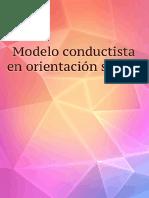 Modelo conductista en orientación sexual
