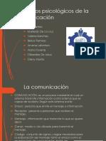Procesos Psicológicos de La Comunicación