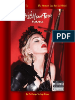Madonna's- Rebel Heart Tour [the -Unnoficial- Lyric Book] [1st Edition]