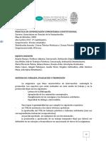 Programa Prc3a1ctica en Comunicacic3b3n Comunitaria e Institucional 2014