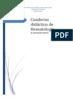 Cuaderno Didáctico de Hematología-Jaime Bolaños