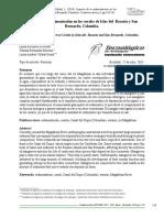 Arroyave, L., Bermúdez, Y. & Villada, L. (2014). Impacto de La Sedimentación