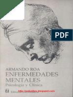Enfermedades Mentales Psicología y Clínica-Roa Armando