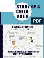 case study of a child age 9 alaina pdf