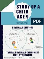 case study of a child age 9 alaina pdf